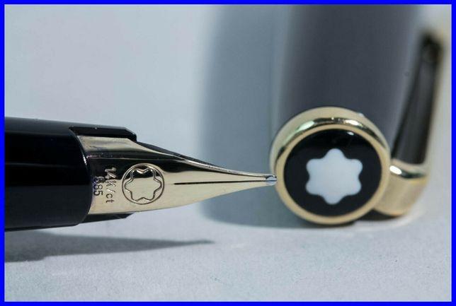 Ручка Montblanc с золотым пером, 70-х годов,Оригинал.