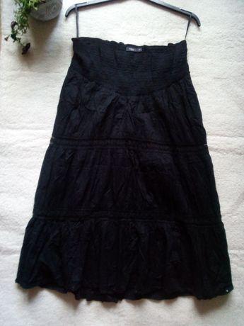 Lindex spódnica maxi rozkloszowana boho witch gothic L 40
