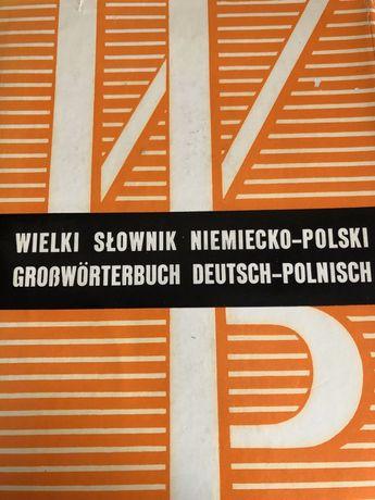 Wielki słownik niemiecko - polski Jan Piprek Juliusz Ippoldt 2 tomy