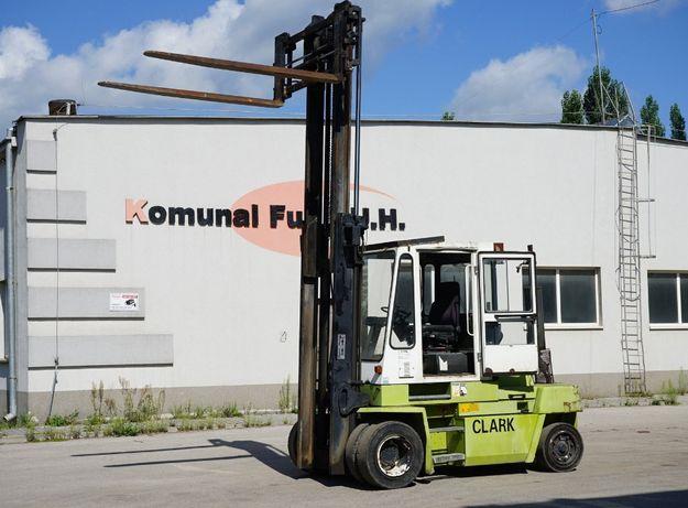 Wózek widłowy CLARK DPL 60 6 ton Duplex w całości na części