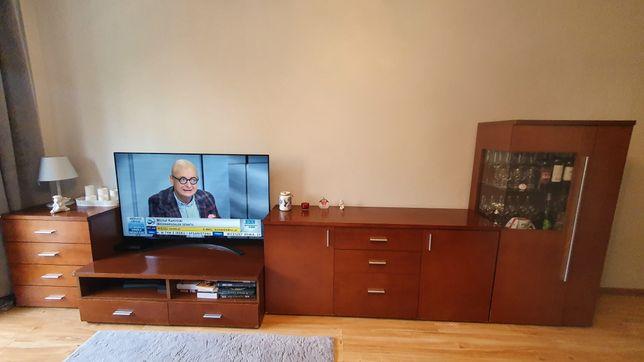 Meble Bydgoskie Kassel 4 elementy salon BFM komoda witryna szafka RTV