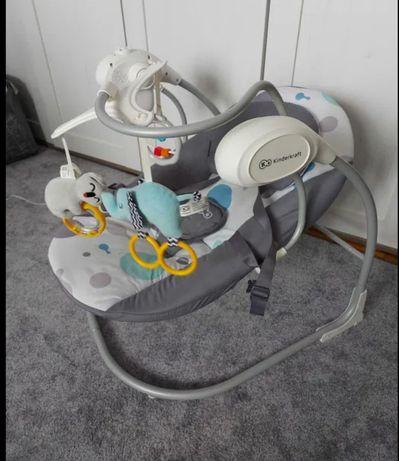 Bujaczek leżaczek Kinderkraft Minky elektryczny