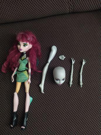 Monster high, lalka, barbie