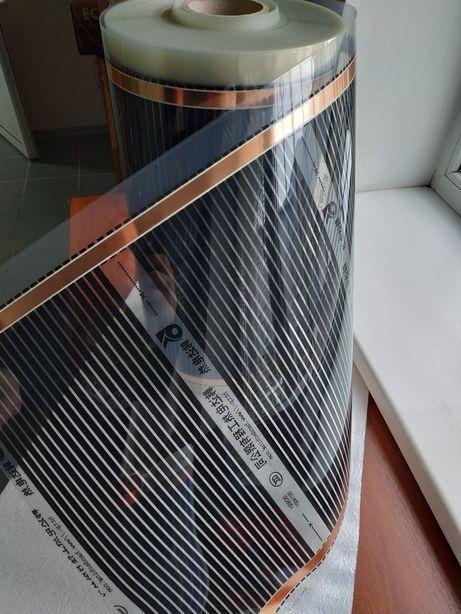 плівкова тепла підлога (інфрачервона)