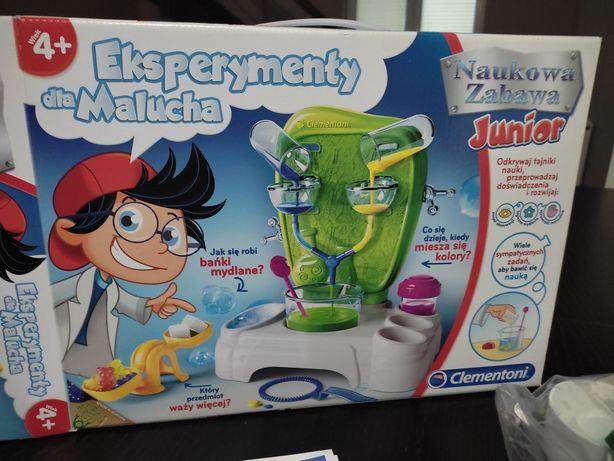 Eksperymenty dla malucha Clementoni Naukowa Zabawa Junior