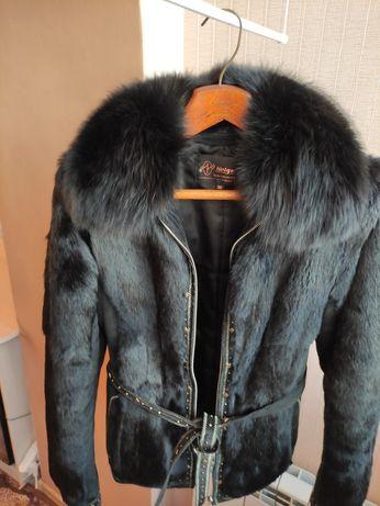 Натуральный полушубок, куртка 46-48 разм.