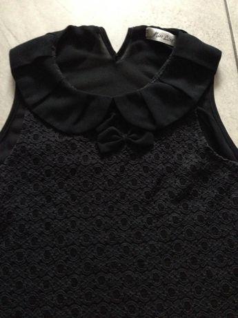 Bluzka koronka czarna S Miss Line