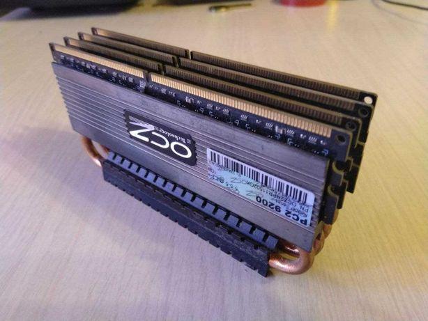 4GB OCZ DDR2 PC2-9200 Reaper HPC Edition: пам'ять з тепловими трубками