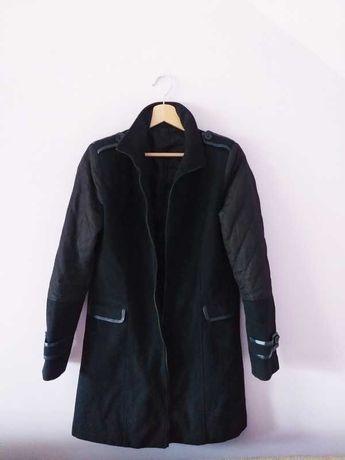 Płaszcz S/M czarny bez wad
