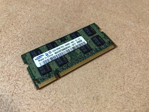 Ram Portatil . Samsung 2gb . 2rx8 . Pc2 . 6400s