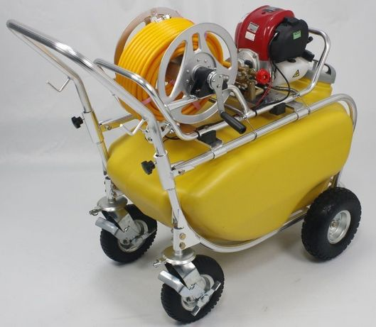 Atomizado com motor - 100Lt., 4Tempos, mangueira 8,5 mm x 30 m