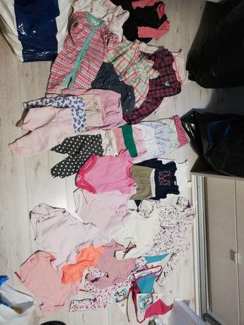 Zestaw ubrań paka dla dziewczynki 3-6 mcy