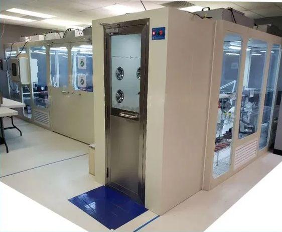 Laboratorium pomieszczenie przenośne modułowe Cleanroom 70m2