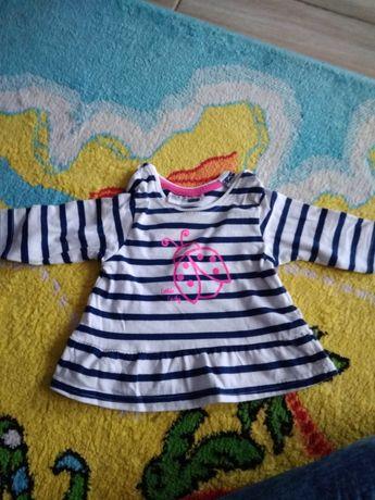 Bluzka tunika niemowlęca