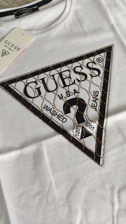 Nowy t-shirt Guess jakość premium