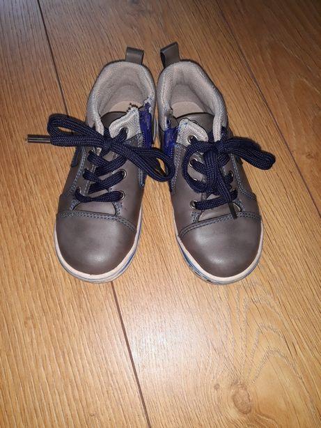 Buty skórzane rozmiar 25