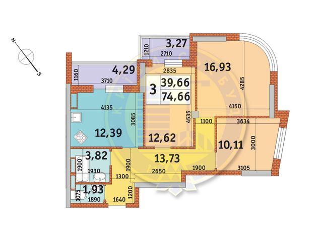 ЖК Медовый, дом 3, своя 3к квартира и паркоместо