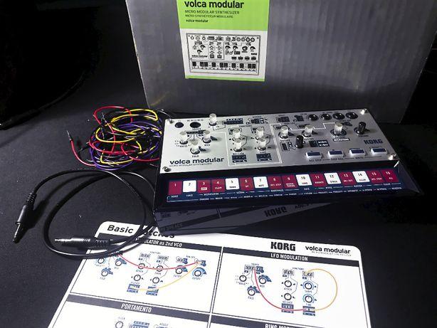 Korg Volca Modular synezator analogowy, dodane MIDI TRS