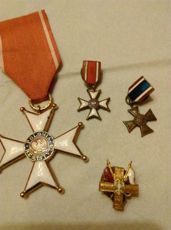 Medale, odznaczenia