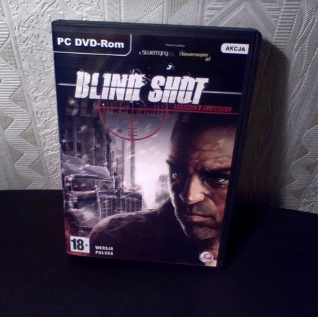 Blind Shot. Assassin's Confession PC DVD-ROM