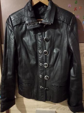 Как новая кожаная куртка S (42-44)