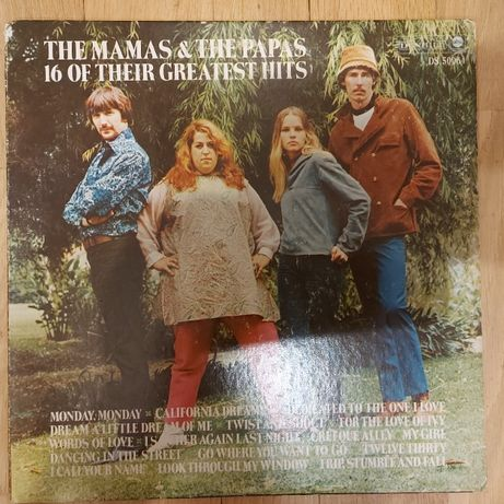 The Mamas & The Papas, 16 Their Greatest Hits, USA, Aug 1969, dst+