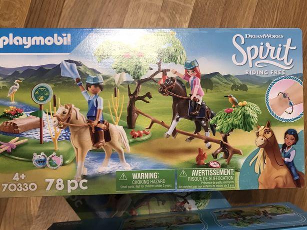 Новинка 2020 Playmobil 70330 лошадиные скачки на свежем воздухе