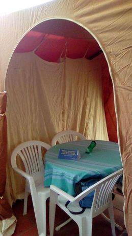 tenda familiar com dois quartos