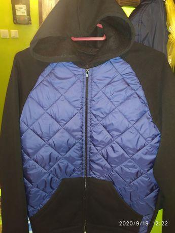 Мужская кофта на флисе + курточка. Цена за всё!!