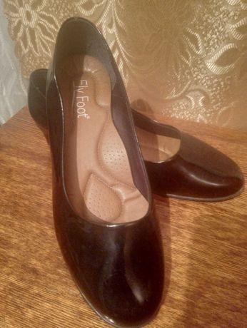 Туфли кожаные женские разм. 35