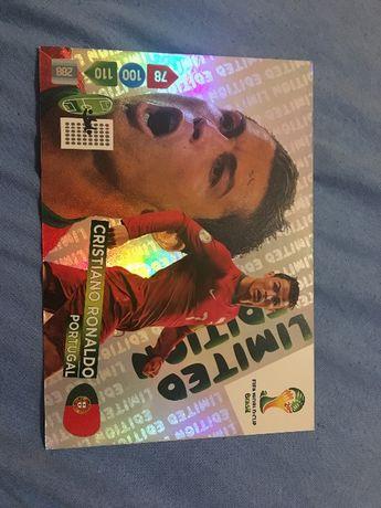 Karty limitowane XXL Neymar i Cristiano Ronaldo
