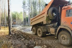 Підсипка дороги будівельними відходами с.Мар'янівка Овідіопольський