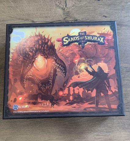 HEXplore It The Sands of Shurax gra planszowa gry planszowe wymienię