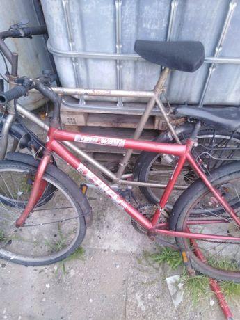 Rower sprawny drugi na części