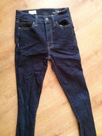 Dzinsy spodnie rurki jeans xs 32-34 zweżane damskie dziewczece skinny
