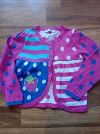 Sweter z truskawka. Ideał rozm 116