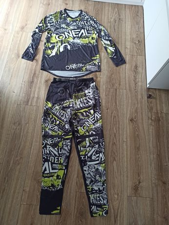 Strój komplet oneal spodnie bluza XXL koszulka Cross enduro rower