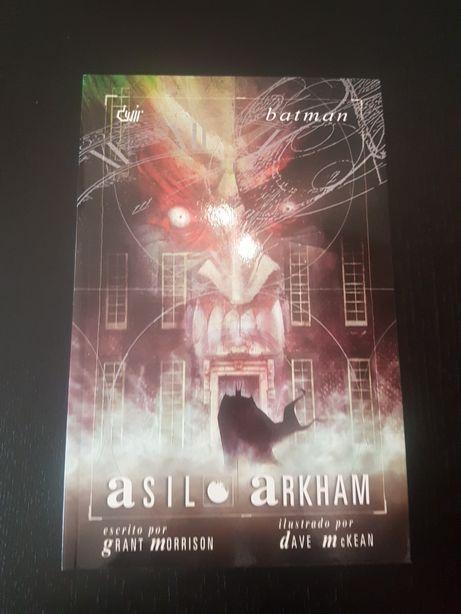 BD - Batman asilo Arkham - Grant Morrison