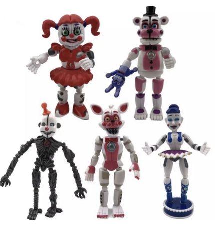 Figurki FNAF Five Nights At Freddy's 5 sztuk NOWE!