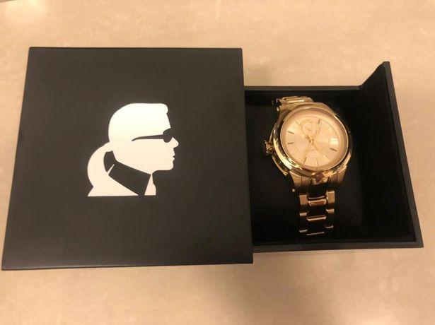 Zegarek damski złoty Karl lagerfeld