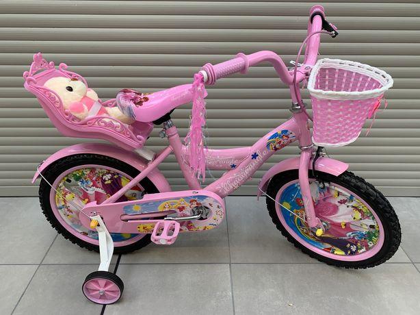 HIT Rowerek dziecięcy rower dla chłopca dziewczynki dziecka BMX 16cali