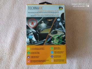 Автосигнализация Technaxx TX-100 со встроенным 2-портовым заряд. устро