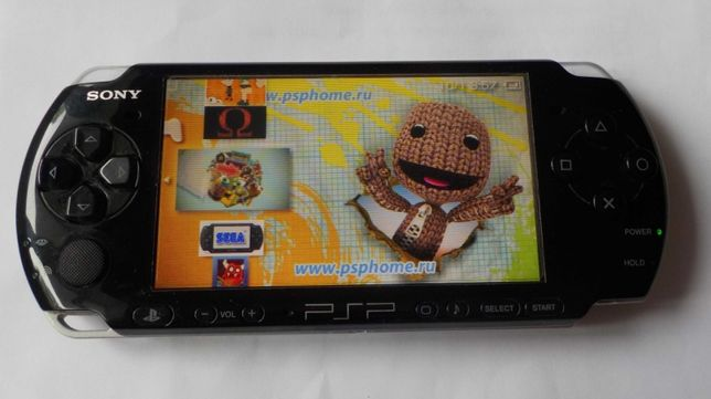 Sony PSP 3008 с карточкой 4Gb