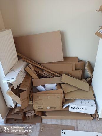 Kartony, pudła, opakowania po meblach