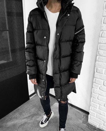 Мужская куртка, пуховик, зимняя парка, Black island