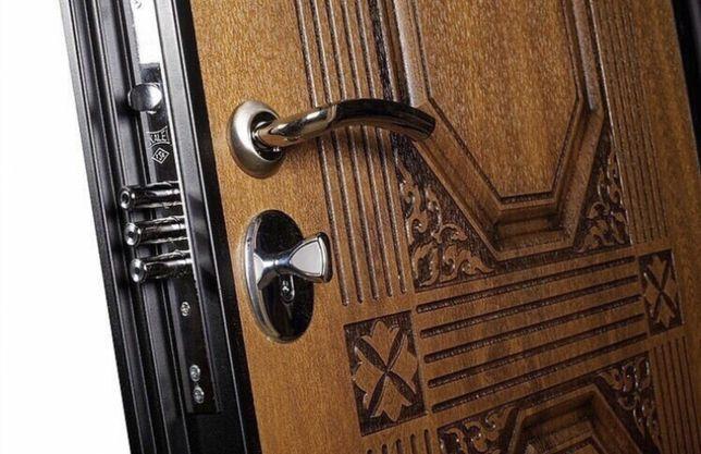 НОВЫЕ ПО ЦЕНЕ Б/У! Дверь металлическая входная, бронированная дверь