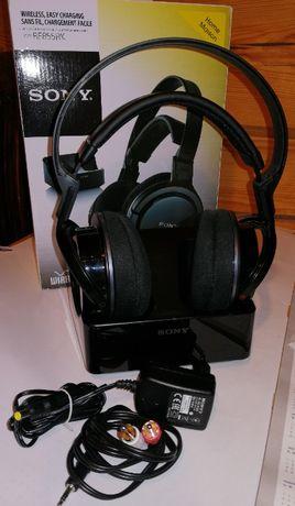 Używane -ORYGINALNE- SPRAWNE słuchawki bezprzewodowe Sony MDR-RF855RK