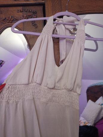 Przepiękna sukienka, wiązana na szyi, zwiewna NEW LOOK