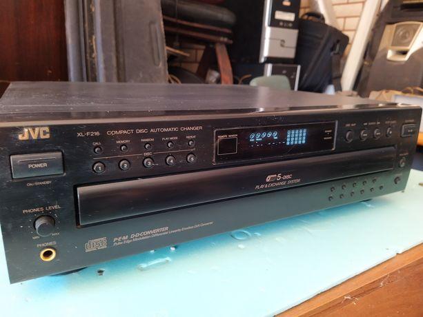 Odtwarzacz 5 CD JVC