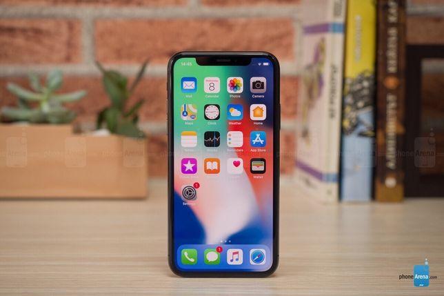 Продам Iphone X 64gb (NEVERLOCK ) space gray